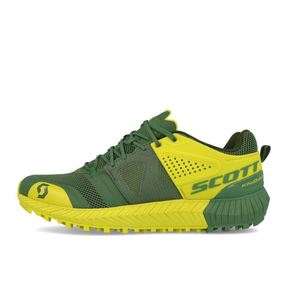 Scott Kinabalu Power vert jaune Chaussures De Course trailchaussures vert jaune
