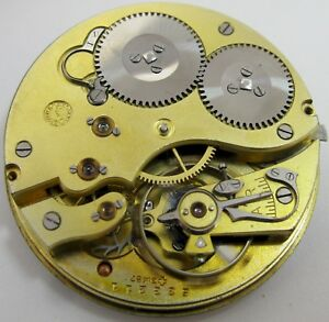9de7aceb3 IWC 52 16 jewels pocket watch movement & dial for part ... diameter ...