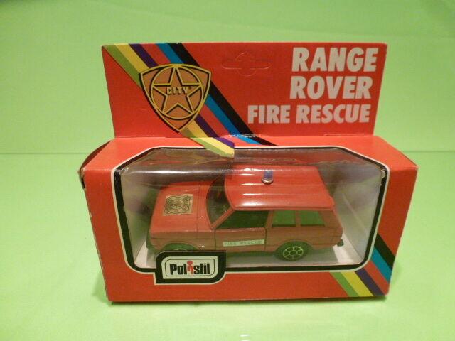 POLISTIL CE 79 A  -  1 43 RANGE ROVER FIRE RESCUE  - GOOD CONDITION IN BOX