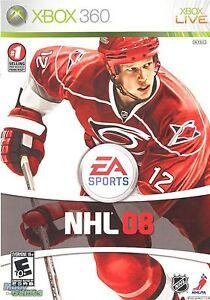 Xbox 360 Nhl 08 Video Game Multiplayer Online Hockey Tournament 2008