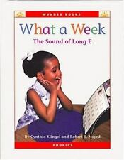 What a Week: The Sound of Long E (Wonder Books Phonics Readers; Vowels-ExLibrary