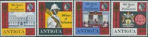 Antigua-1969-SG226-229-Parliament-set-MNH