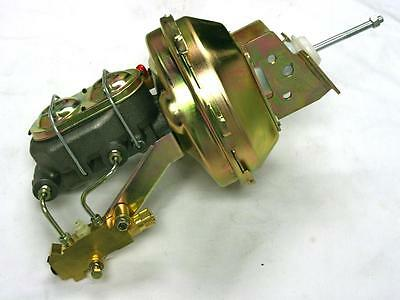 """55 56 57 Chevy Zinc 8/"""" Booster w// Master Cylinder And Proportioning Valve"""