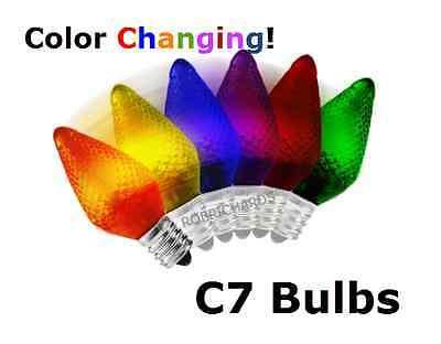 LED - Color Changing Bulbs - Refrigerator - Night Light - Christmas - C7 (E12)