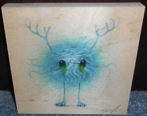 Details about Jeff Soto Seeker Friends #1 Roller Skates Print On Wood  Signed #d 24/454 Poster