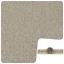 STYLISH Beige Carpet With Premium Felt back 4m Wide Carpet Remnant//Roll End