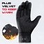 Bike Gloves Winter Thermal Warm Full Finger Cycling Glove Touch screen