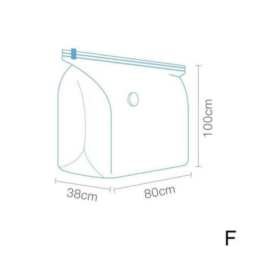 Space Saver Saving Storage Bags Vacuum Seal Compressed Bag Organizer Hot O6F8