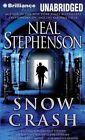Snow Crash by Neal Stephenson (CD-Audio, 2014)