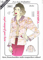 Olympia Schnittmuster – Easy and Fashion plus – Damenmode – verschiedene Modelle