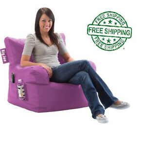 Big Joe Dorm Chair Light Orchid Bean Bag College Gameroom