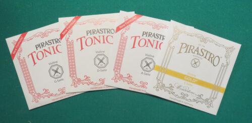Tonica Gold label, Satz f Preissenkung ! 4//4-Geige