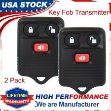 2x Keyless Entry Car Remote Control Key Fob Transmitter Alarm For Ford F150 F250 Fits Mazda