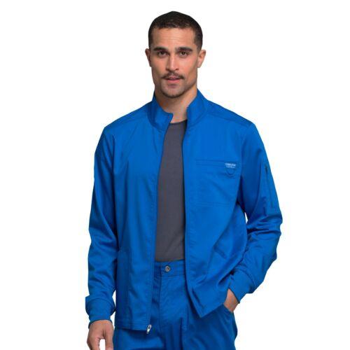 Cherokee Scrubs REVOLUTION Men/'s New Fashion Zip Front Jacket WW320