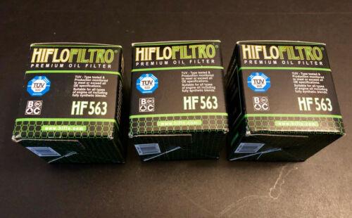 3 x Ölfilter HIFLO HF563  für Husqvarna TE 250 2008,2009