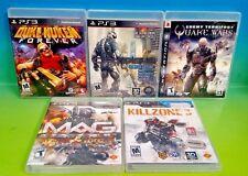 Blow Stuff Up! Crysis 2 Mag Quake Wars Killzone 3 Nukem - PS3 Sony Playstation 3