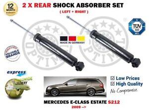 para-Mercedes-S212-Clase-E-2009-gt-2x-trasero-Izquierdo-Derecho-Amortiguador-Set