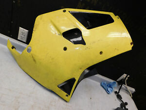 1987 1988 yamaha FZR1000 right fairing cowl plastic side cover body  88 FZR750
