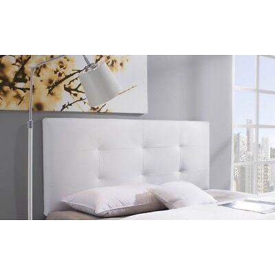 Cabecero de Polipiel cabeceros dormitorio 9cm matrimonio cabezal tapizado cama