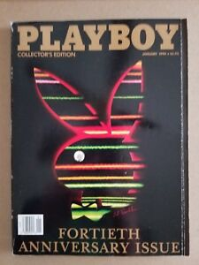 Vintage-40th-Anniversary-issue-of-Playboy-Collector-039-s-Edition-VG-NM-Condition