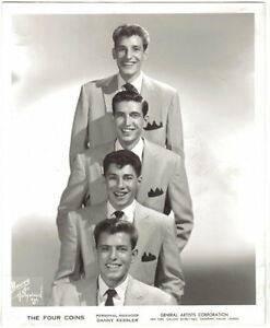 Image Is Loading Original 1950 039 S Photo Of The Four