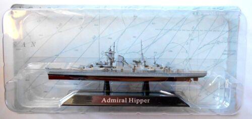 ADMIRAL HIPPER DIE CAST NAVI DA GUERRA 16 Scala1:1250