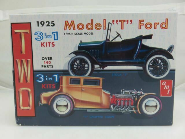 Vintage 1925 Amt Two 3 In 1 Model T Ford Car Kit 11 Variations Rare For Sale Online Ebay