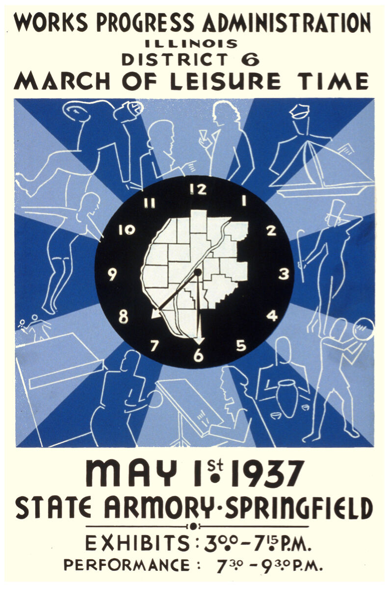 Springfield Illinois POSTER.Stylish Graphics.Vintage Room art Decor.357i
