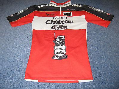 Salotti Chateau D Ax.Chateau D Ax Salotti Huni Italian Cycling Jersey 6 Ebay