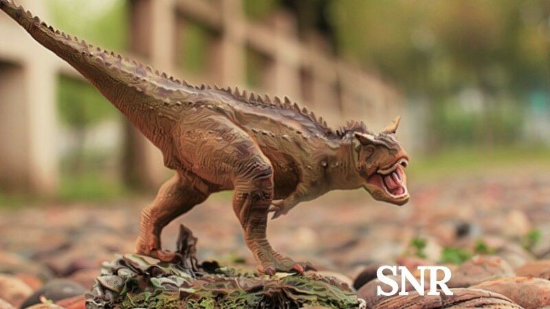 Figura Dinosaurio SNR Samir AJH edición limitada de impresión