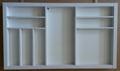 Portaposate in legno  verniciato Bianco larghezza 818  profondità 472