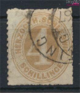 Schleswig-Holstein-17-Pracht-gestempelt-1865-Ziffernzeichnung-9108884