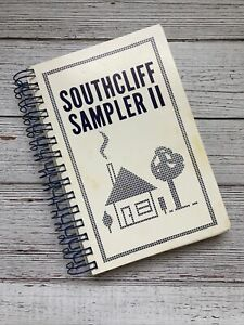 Vintage Southcliff Baptist Church Cookbook Fort Worth Texas Recipes 1987 1980's