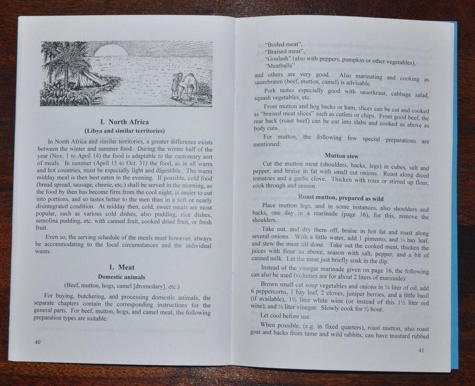 Militær, Tysk WW2 Feltkogebøger