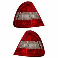 Cg Mercedes Benz C Class W202 96-99 Tail Light Red/clear on Sale