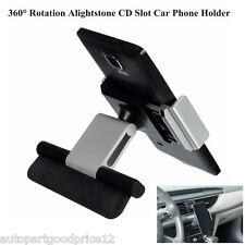 New Universal Car Van CD Slot Mobile Phone GPS Sat Nav Stand Holder Mount Cradle
