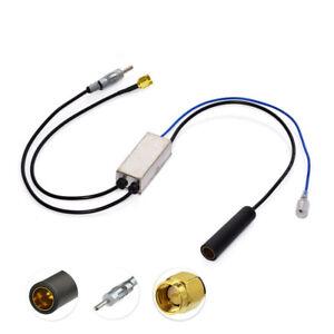 DAB FM AM Car Aerial Antenna Adapter Splitter for DAB Digital Radio Receiver