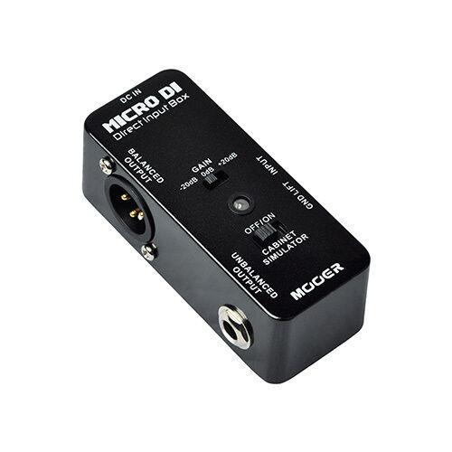 Direct Input Box Guitar // FX Pedal Micro DI Mooer Micro Series BRAND NEW