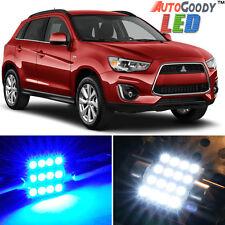 6 x Premium Blue LED Lights Interior Package 11-17 Mitsubishi Outlander Sport