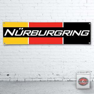 NURBURGRING-Banner-heavy-duty-for-workshop-garage-man-cave