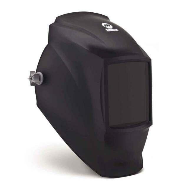 Miller 238 497 Fixed Shade Welding Helmet Black for sale online