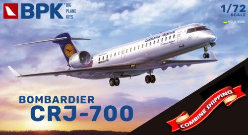 BPK 7214 Bombardier CRJ-700 Lufthansa plastic model kit 1//72 Big Planes Kits