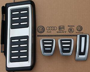 Audi A3 8V S3 RS3 original pedal cover caps footrest for ...