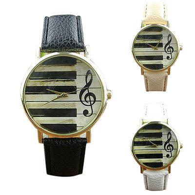 2015 Geneva Womens Watches UNISEX Leather Band Analog Watch Quartz Wrist Watches