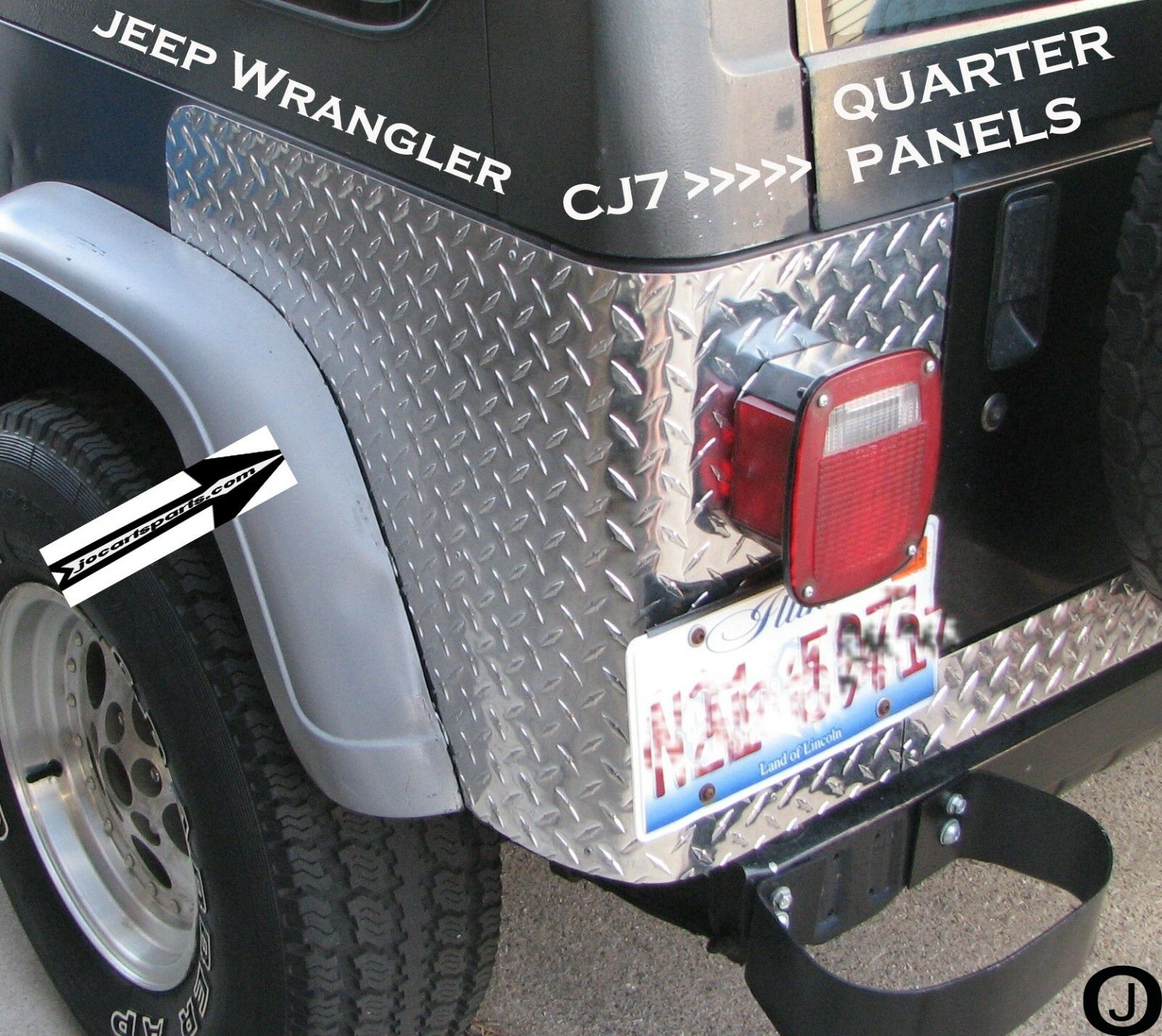 Corner Panel-Right for Jeep CJ Crown J5764220