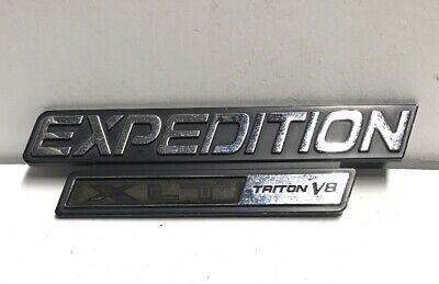 1998 1999 2000 2001 2002 ford expedition xlt triton v8 emblem xl14 16b114 aa oem ebay ebay