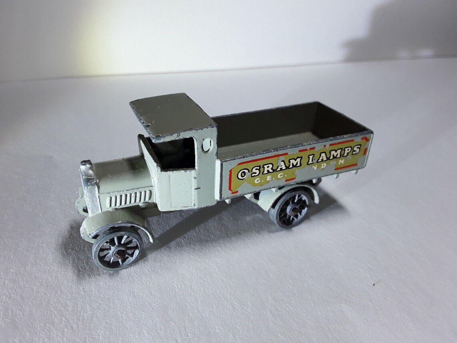 Matchbox Models Of yesteryear Y6 AEC Y Type Lorry