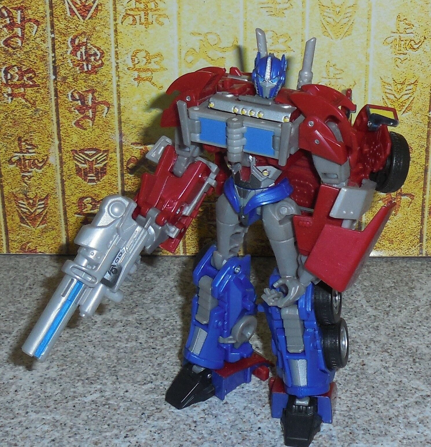 Transformers Prime Erste Ausgabe Optimus Prime Komplett Deluxe