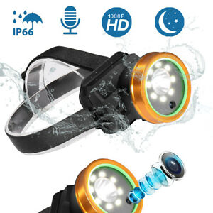 HD-1080P-Waterproof-Headlight-Video-Camera-Headlamp-Recorder-for-Outdoor-Sports