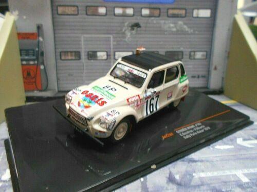 CITROEN Dyane Ente Rallye Paris Dakar Raid 1979 #167 Sandron Oasis IXO 1:43